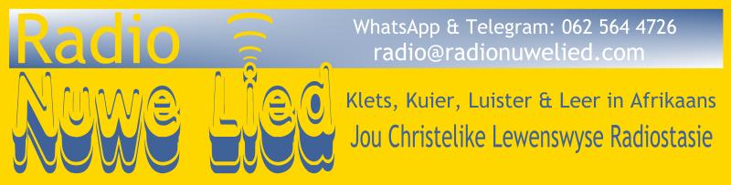 Radio Nuwe Lied logo banner