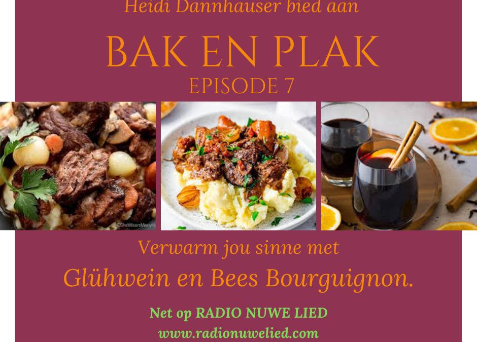 Bees Bourguignon met romerige Kapokaartappels en Glühwein